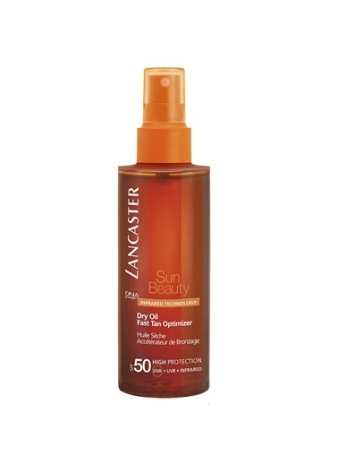 Lancaster Lancaster Sun Beauty Satin Sheen Oil Fast Tan Optimizer Spf 50 - 150 Ml Renkli